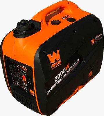 WEN 56200i 2000 watt portable generator left front side