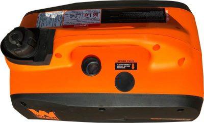 WEN 56200i 2000 watt portable generator left top side