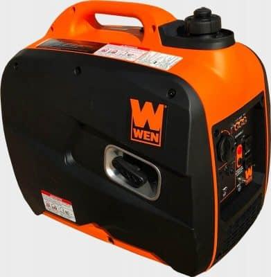 WEN 56200i 2000 watt portable generator right front side