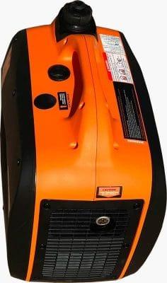 WEN 56200i portable generator top back side