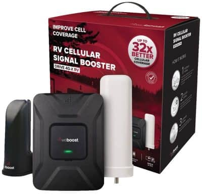 WeBoost Drive 4G-X RV cell booster