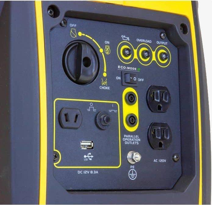 Wen 56200i generator panel