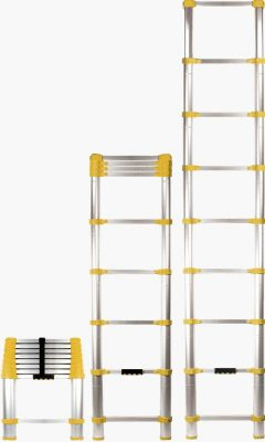 Xtend and Climb telescoping ladder 3 position
