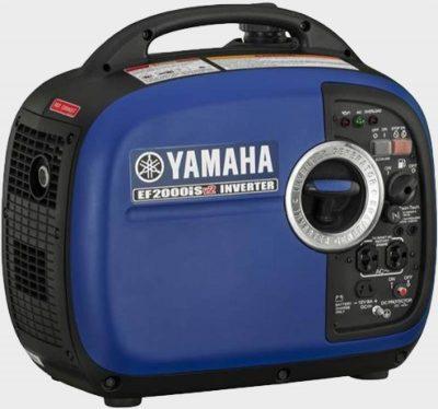 Yamaha EF200iSv2 right back side