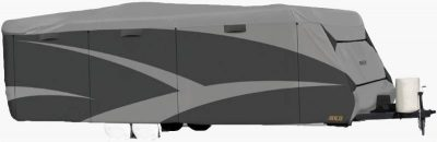 adco designer series tyvek plus wind travel trailers cover