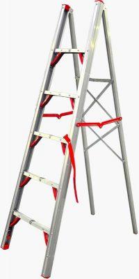 aluminum folding ladder Telesteps 600FLS Stik