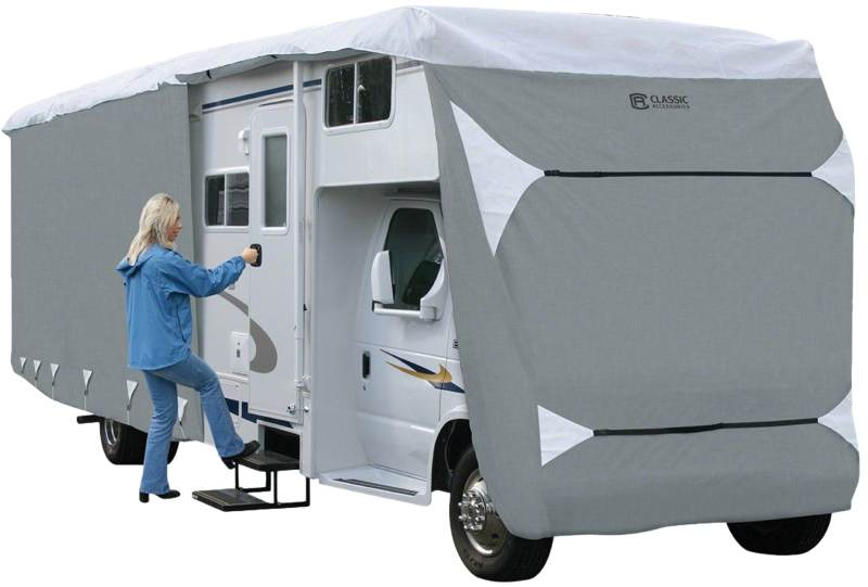 SavvyCraft Heavy Duty Class A RV Motorhome Cover Fits 28ft to 30ft Class A RV