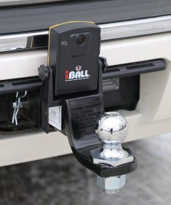 iball wireless hitch camera installed
