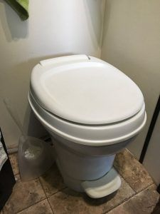 Kelly's RV toilet