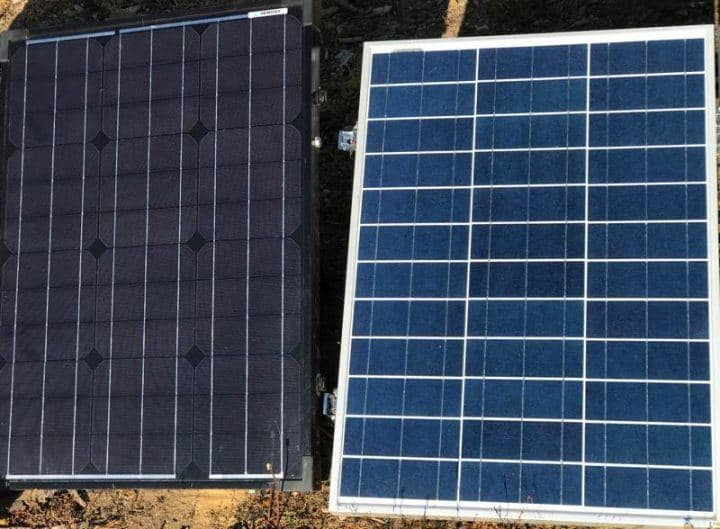 poly vs mono solar cell